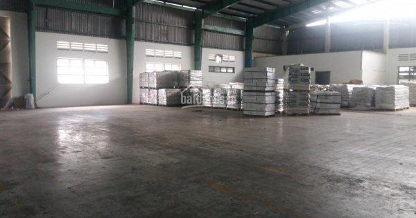 Cho thuê 2500m2 xưởng đã có mái khu vực Lương Thế Vinh
